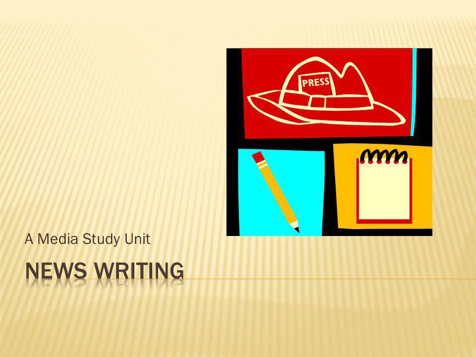 A Media Study Unit