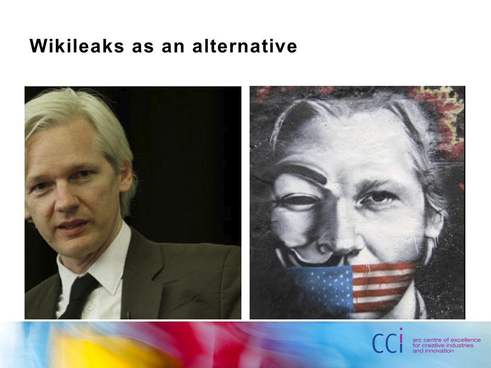 Wikileaks as an alternative