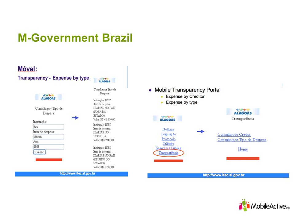 M-Government Brazil