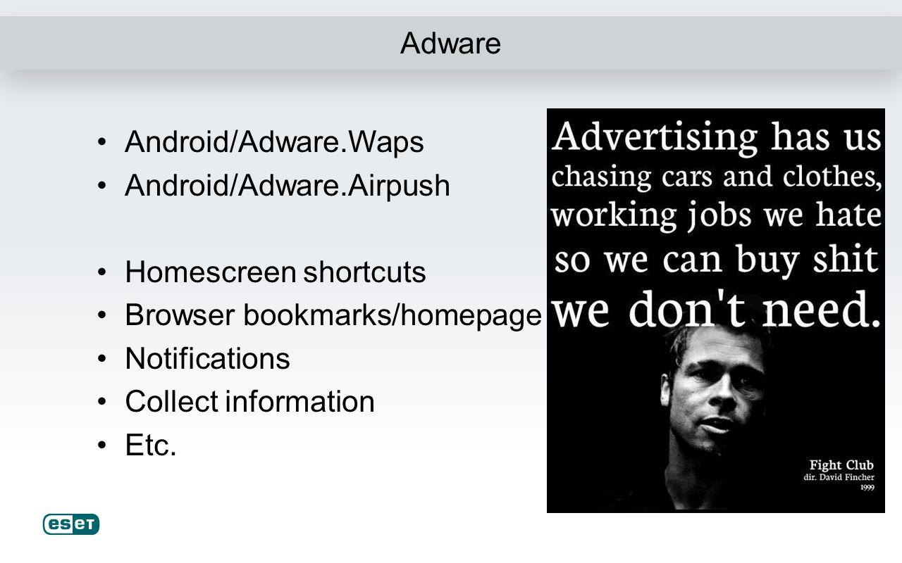 Scareware & Ransomware Android/FakeAV