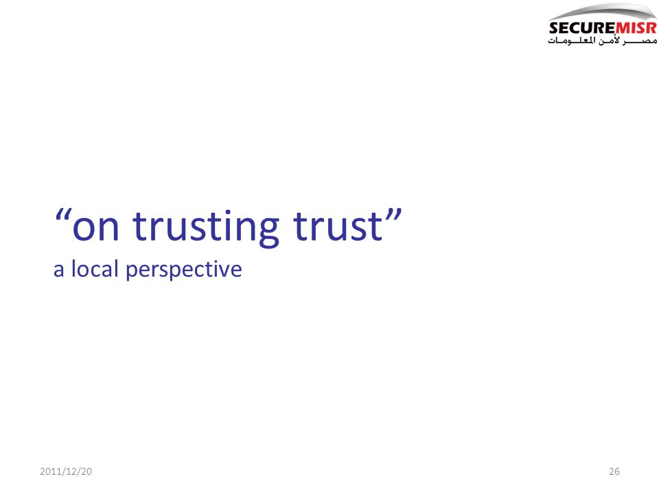 on trusting trust a local perspective 2011/12/2026