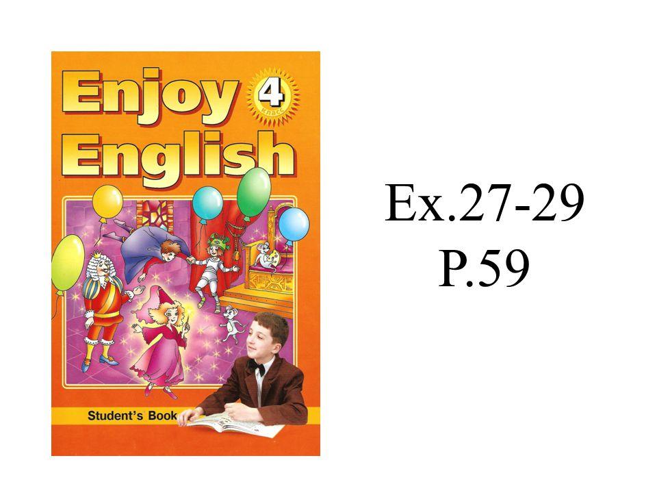 Ex.27-29 P.59