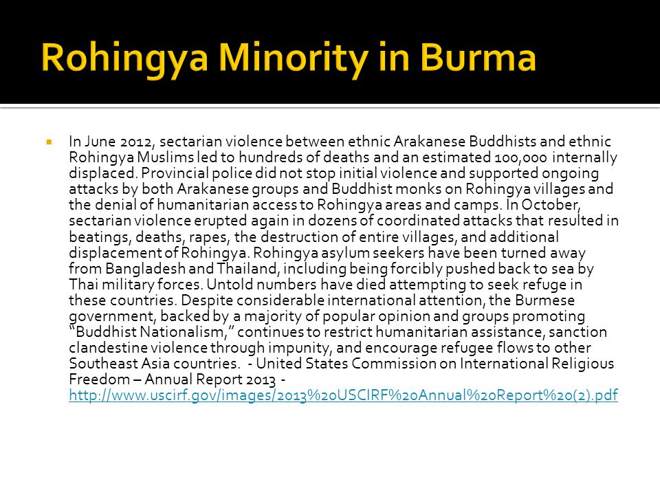 What Is Behind Burmas Wave of Religious Violence.