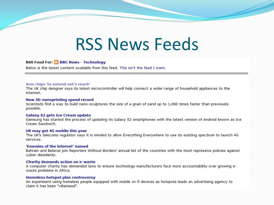 RSS News Feeds
