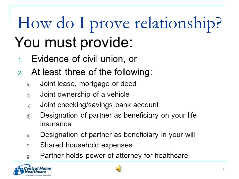 When is partner coverage the same as spousal coverage.