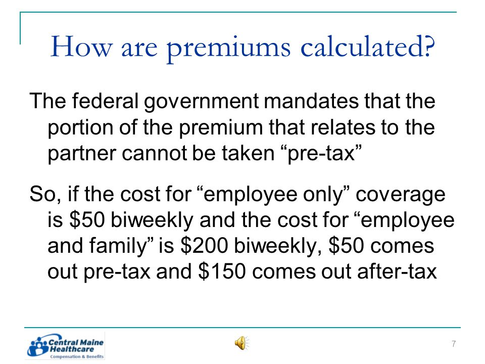 How are premiums calculated.