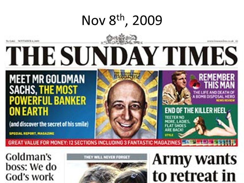 Nov 8 th, 2009
