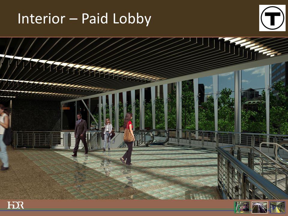 Interior – Paid Lobby