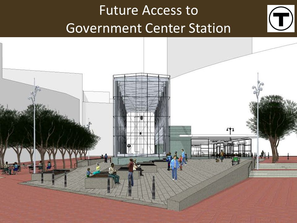 Future Access to Government Center Station