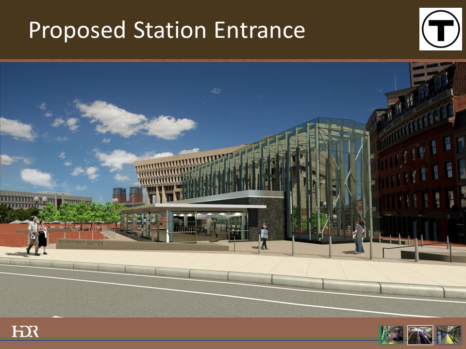 Proposed Station Entrance