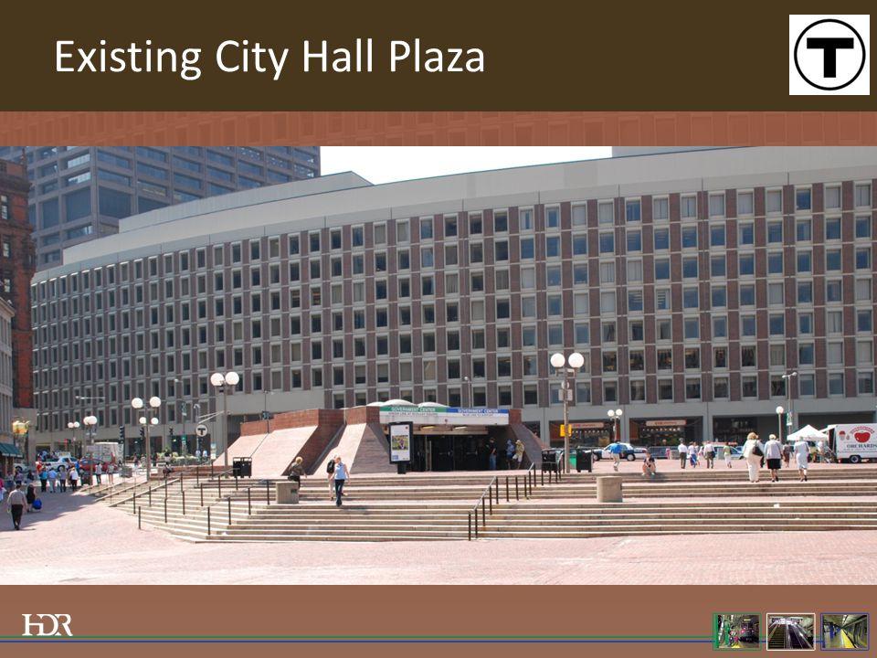 Existing City Hall Plaza