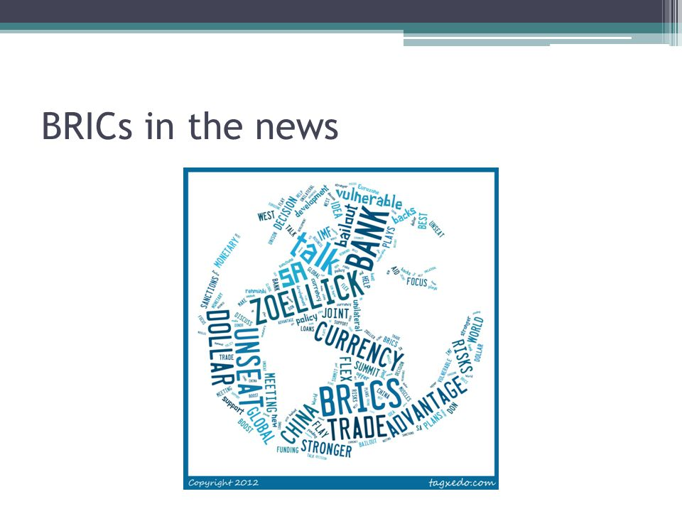 BRICs in the news