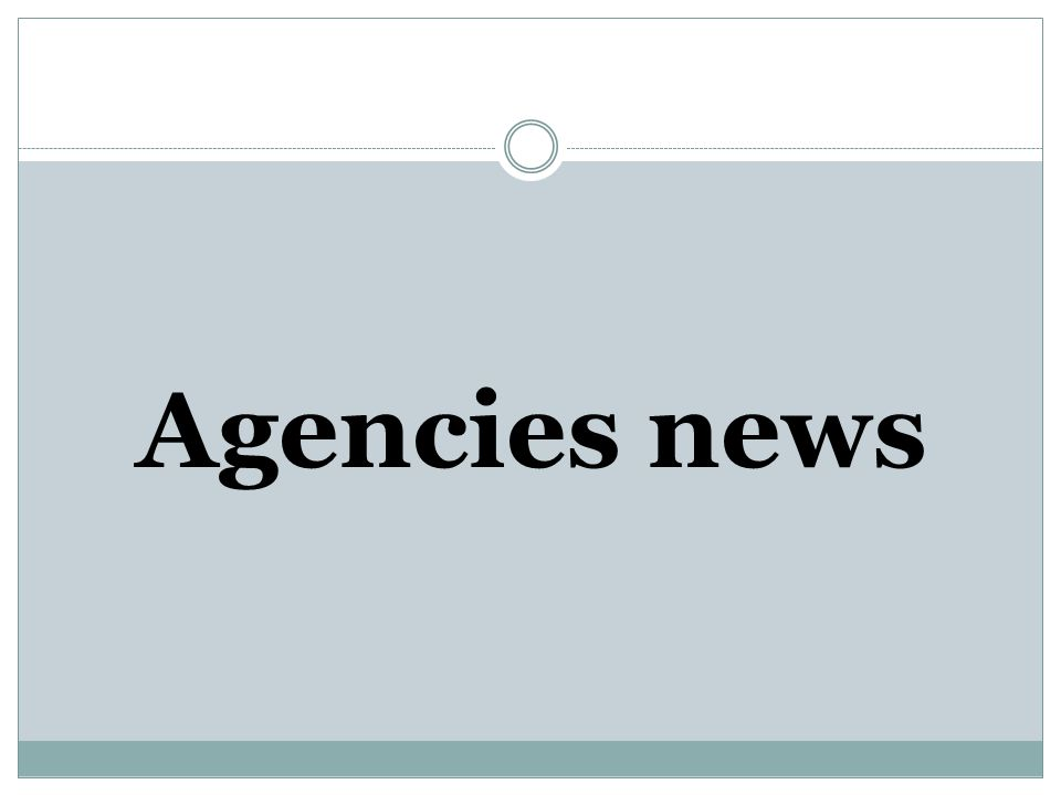 A news agency is an organization of journalists established to supply news reports to news organizations: newspapers, magazines, and radio and television broadcasters.