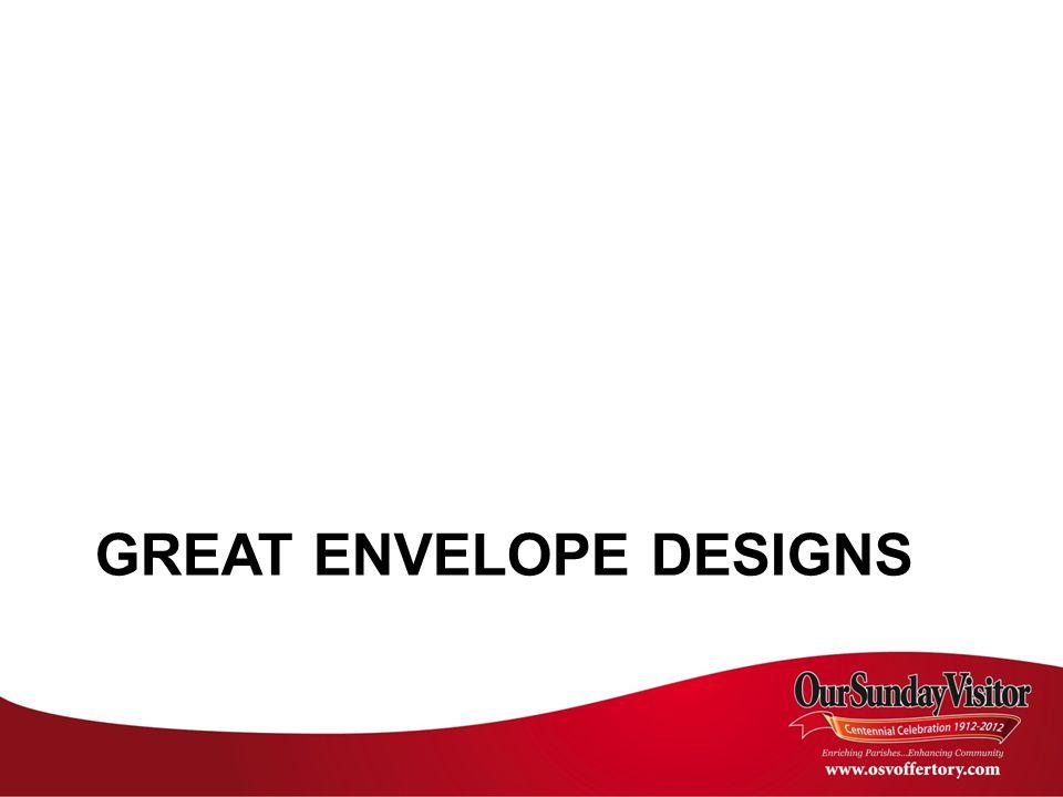 GREAT ENVELOPE DESIGNS