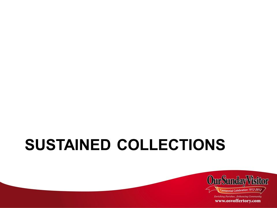 SUSTAINED COLLECTIONS