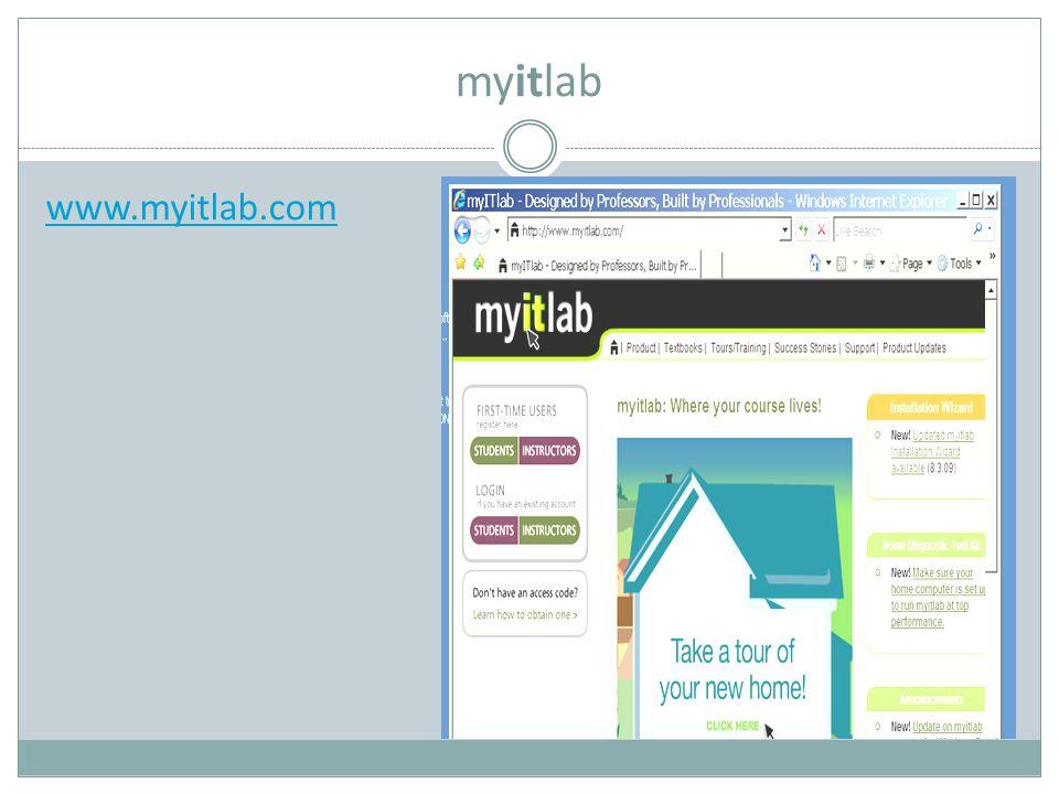 myitlab www.myitlab.com