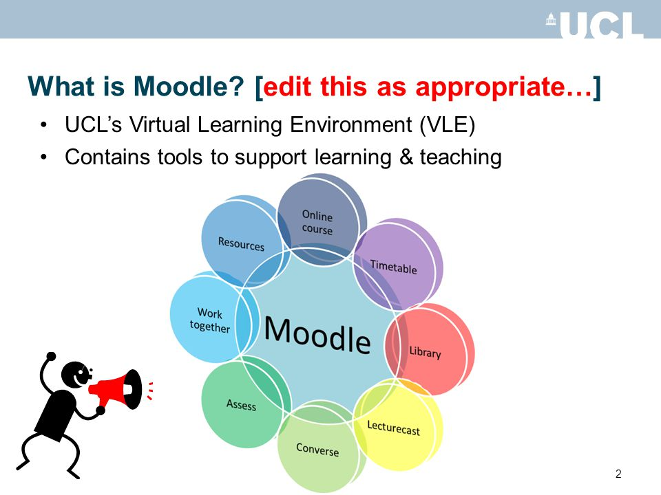 2 What is Moodle.