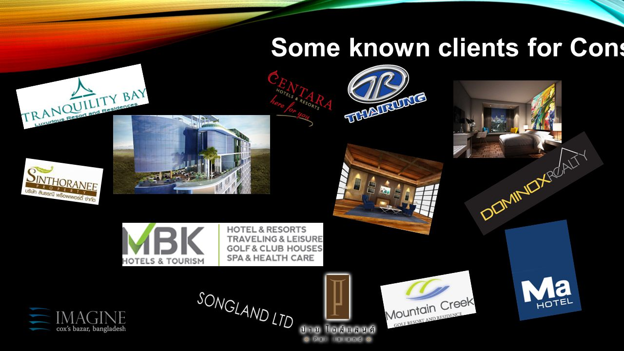 Some known clients for Consulting