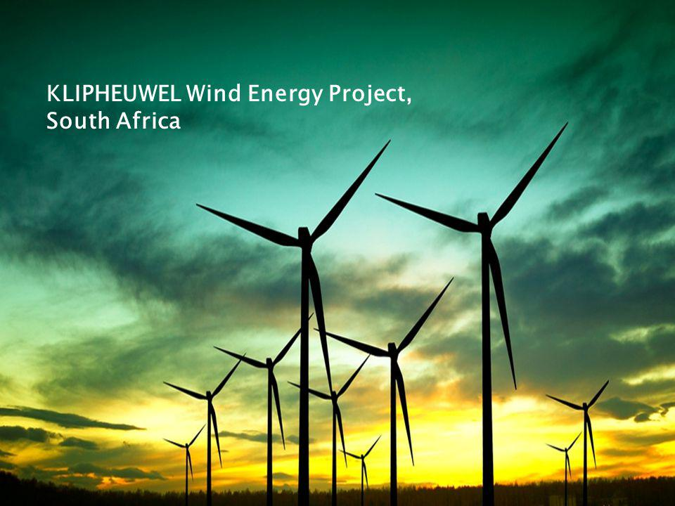 KLIPHEUWEL Wind Energy Project, South Africa