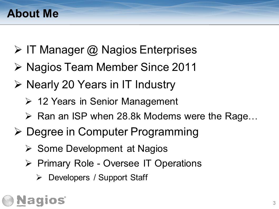 4 What is Nagios.