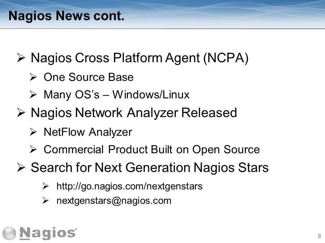 9 The Nagios Ecosystem Def.