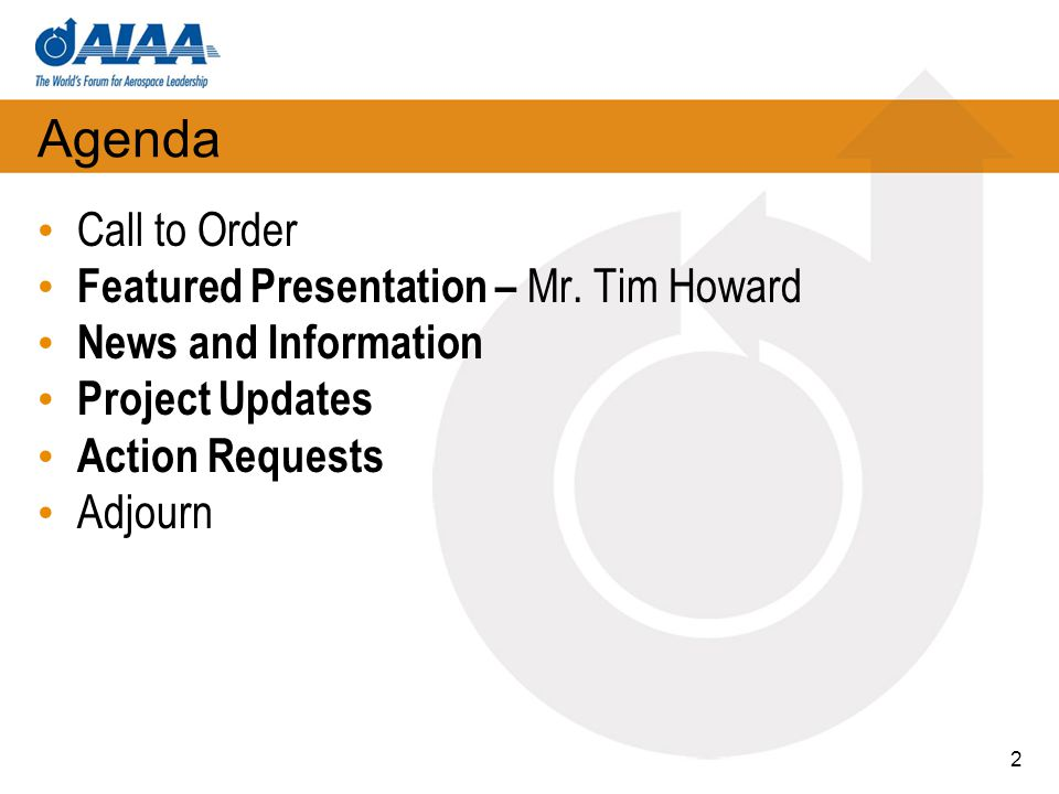 Featured PresentationMr. Tim Howard 3