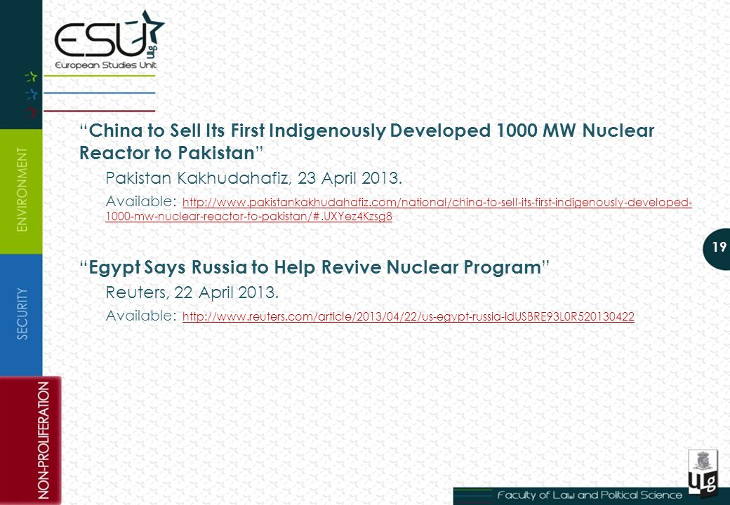 China to Sell Its First Indigenously Developed 1000 MW Nuclear Reactor to Pakistan Pakistan Kakhudahafiz, 23 April 2013.