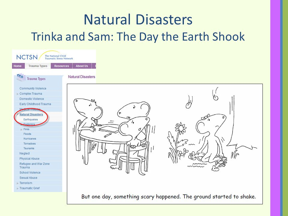 Natural Disasters Trinka and Sam: The Day the Earth Shook