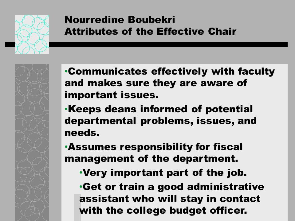 N O R T H T E X A S Questions? Dr. Nourredine Boubekri