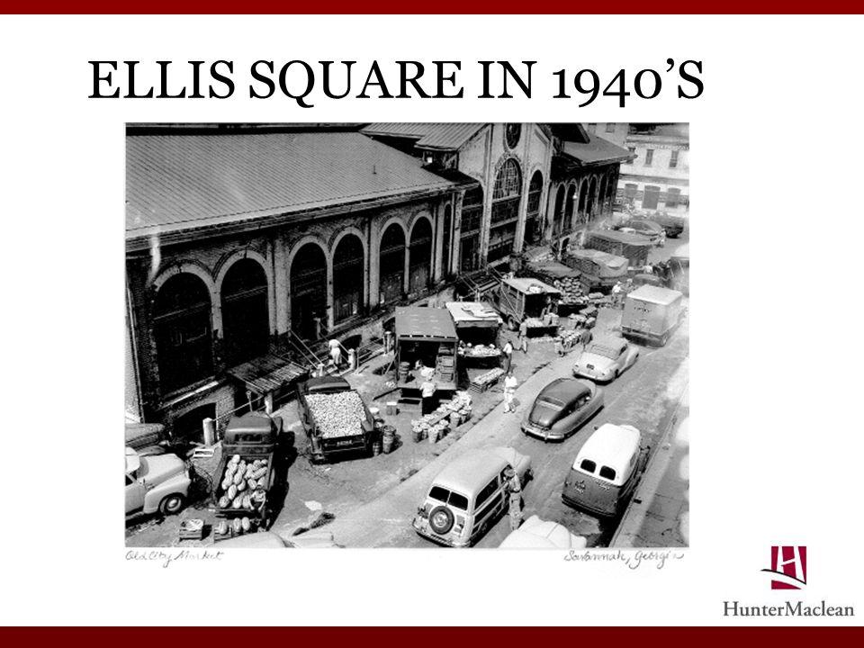 ELLIS SQUARE IN 1940S