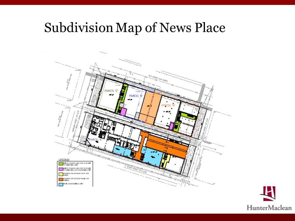 Subdivision Map of News Place