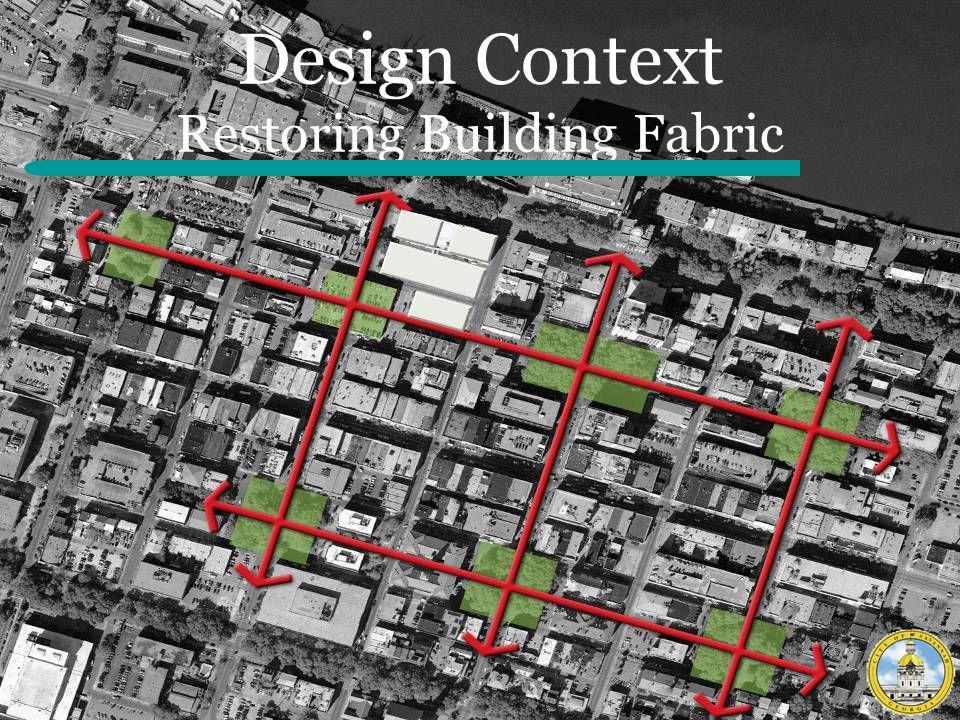 Design Context Restoring Building Fabric