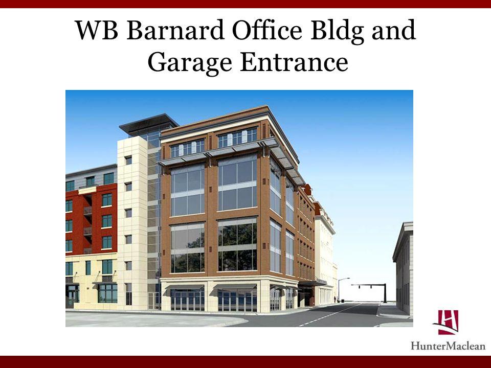 WB Barnard Office Bldg and Garage Entrance