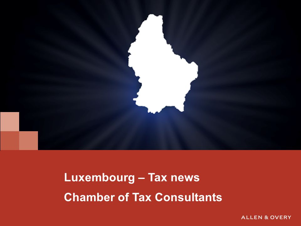 2 Corporations Thin capitalisation Concept of related parties in Luxembourg 15% equity / 85% debt (arms lenght ratio applied by tax administration) If not respected, excessive interest payments may be requalified as dividends (15% WHT) and are not deductible 1.
