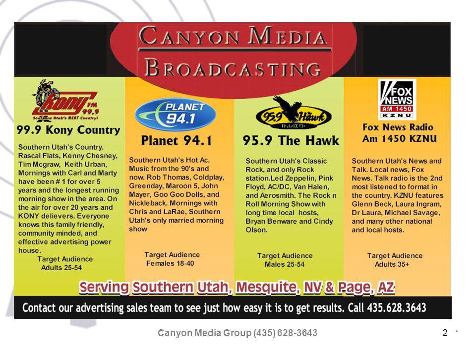 Canyon Media Group (435) 628-364313 FOX NEWS AM 1450 KZNU View Coverage map FOX NEWS RADIO AM1450 KZNU Local news, Fox News.