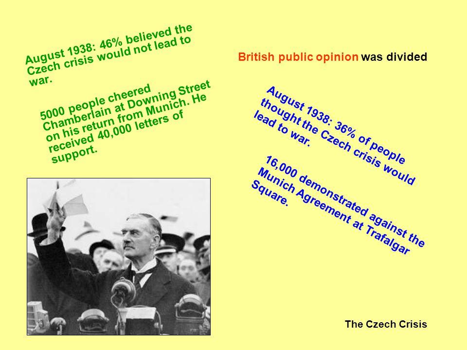 The Czech Crisis The British still fear communism.