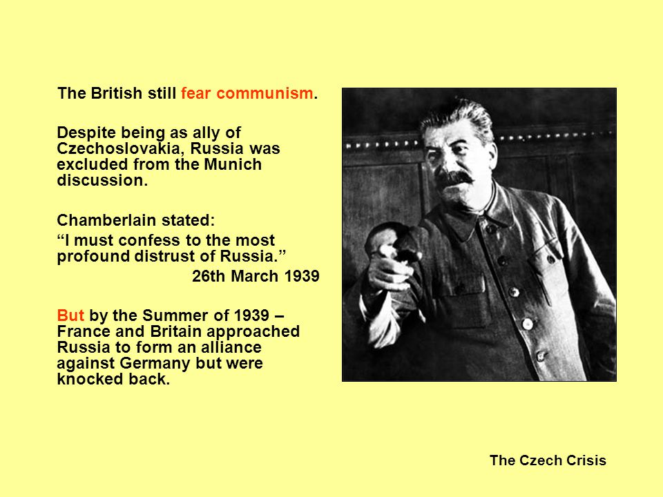 The Czech Crisis British economy was supporting social welfare programmes: I became a politician to help my people.