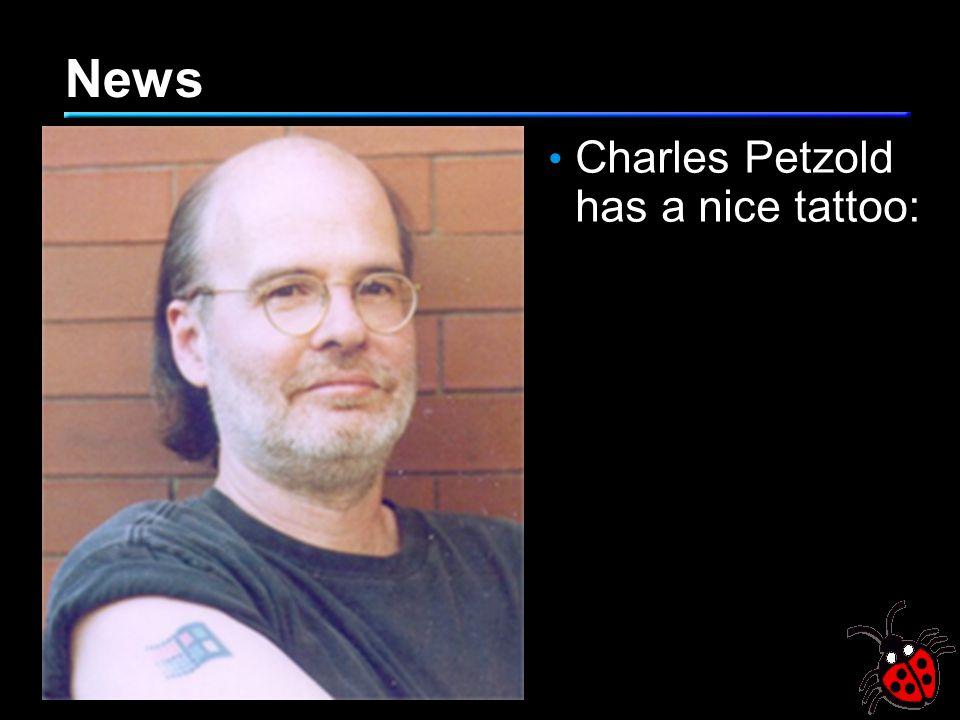News Charles Petzold has a nice tattoo: