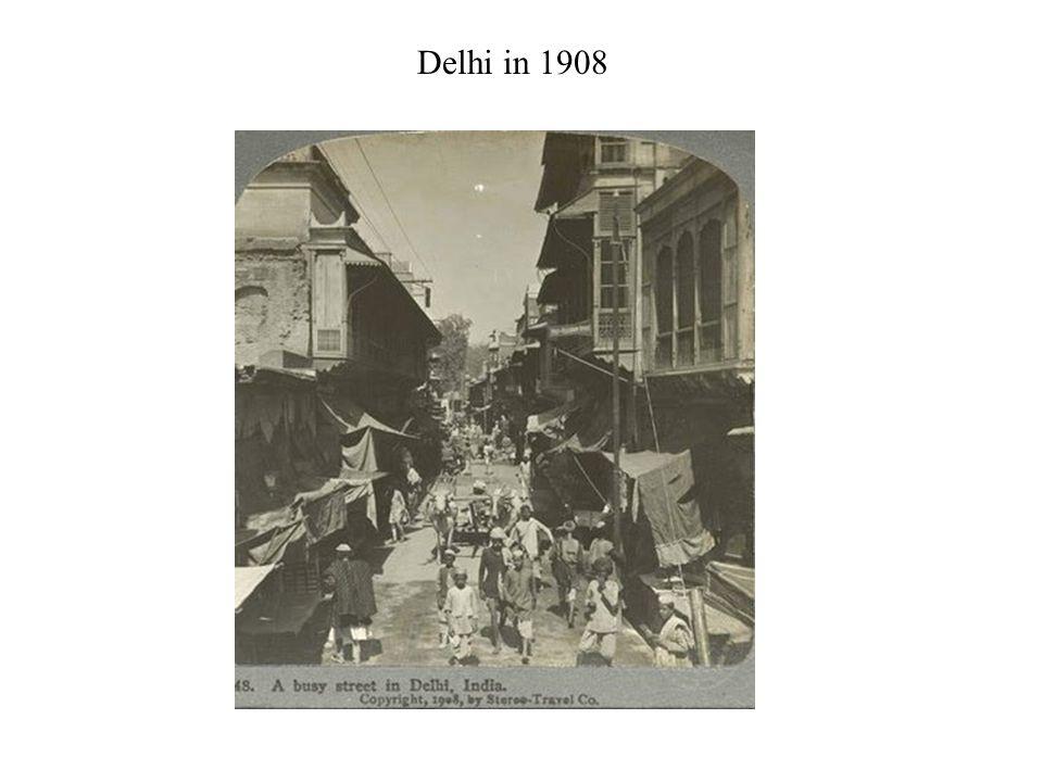Delhi in 1908