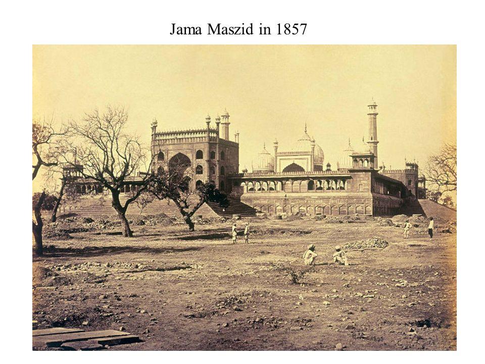 Jama Maszid in 1857