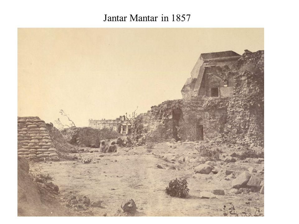 Jantar Mantar in 1857