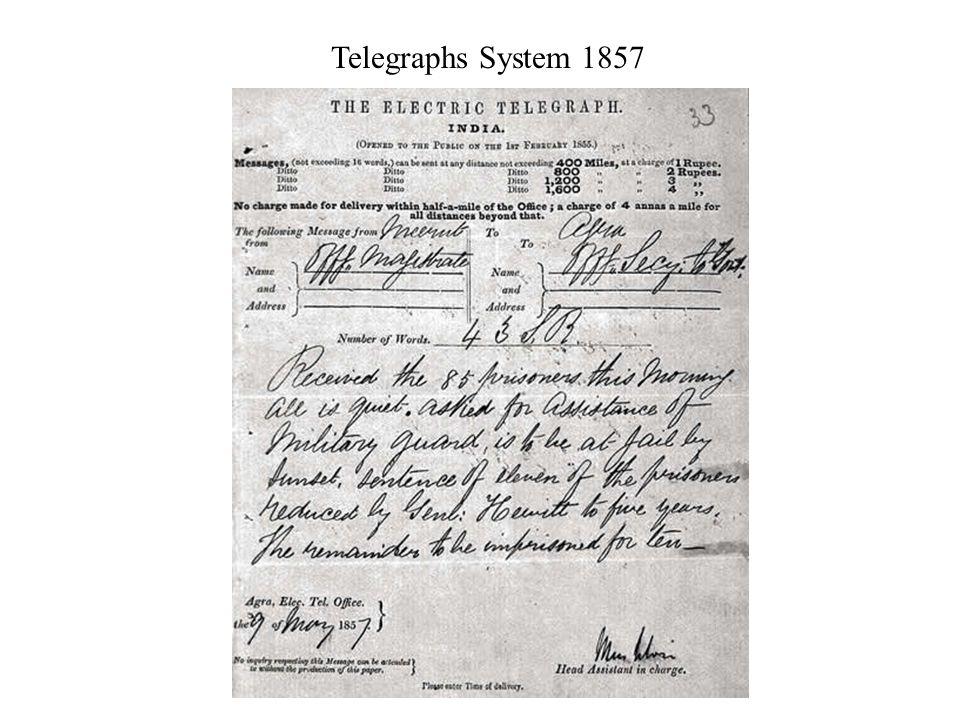 Telegraphs System 1857