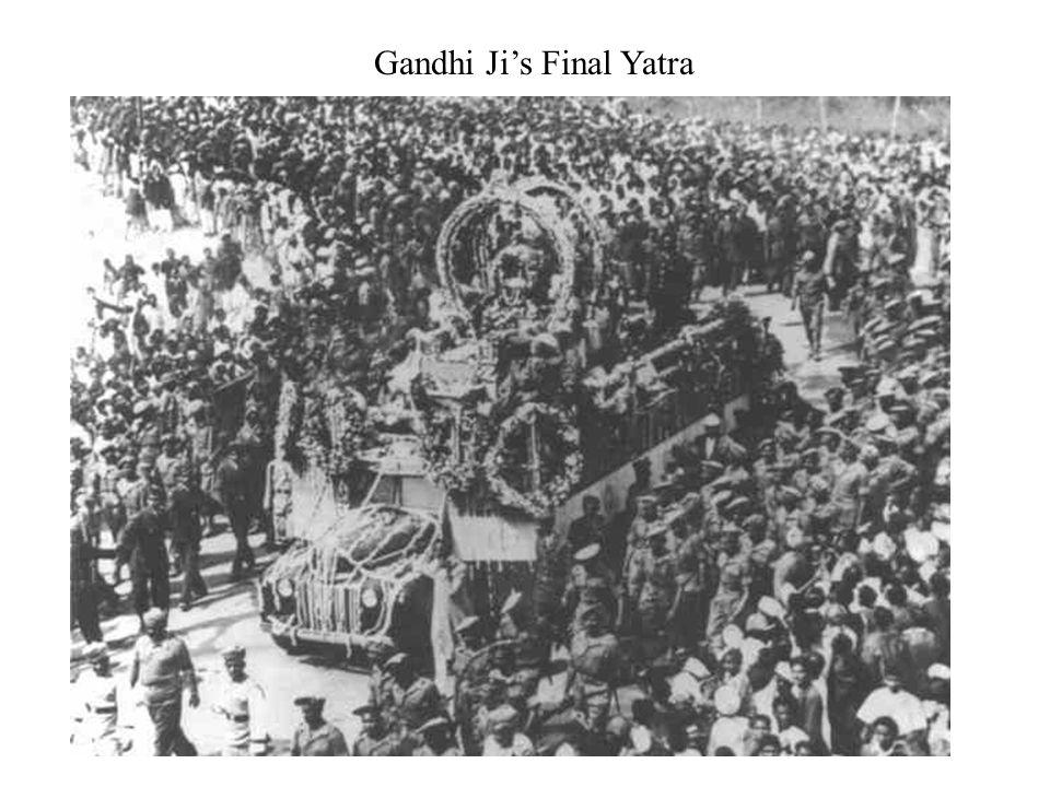 Gandhi Jis Final Yatra