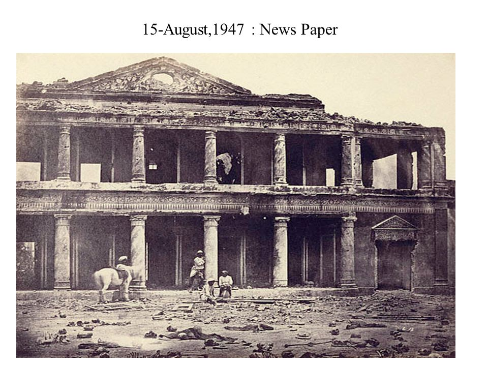 15-August,1947 : News Paper