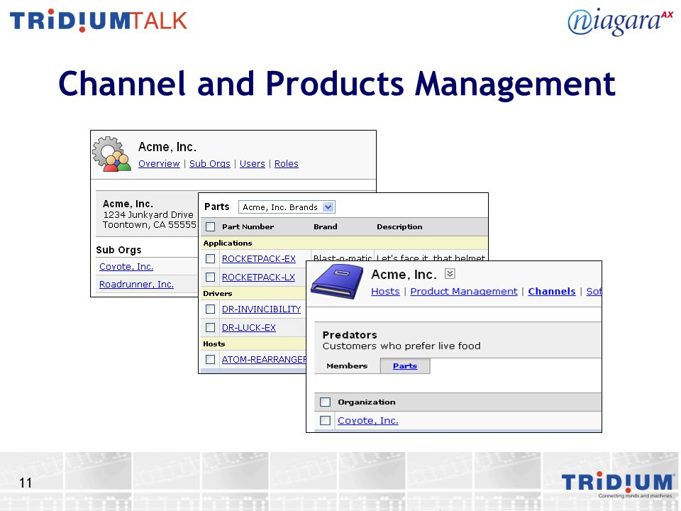 11 Channel and Products Management