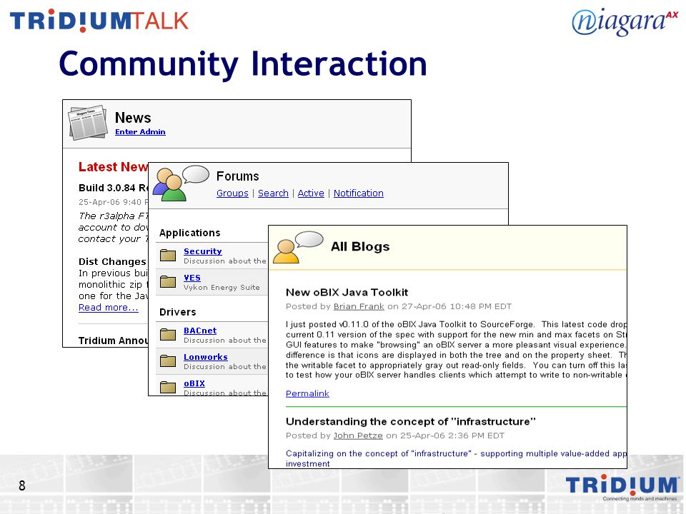 8 Community Interaction