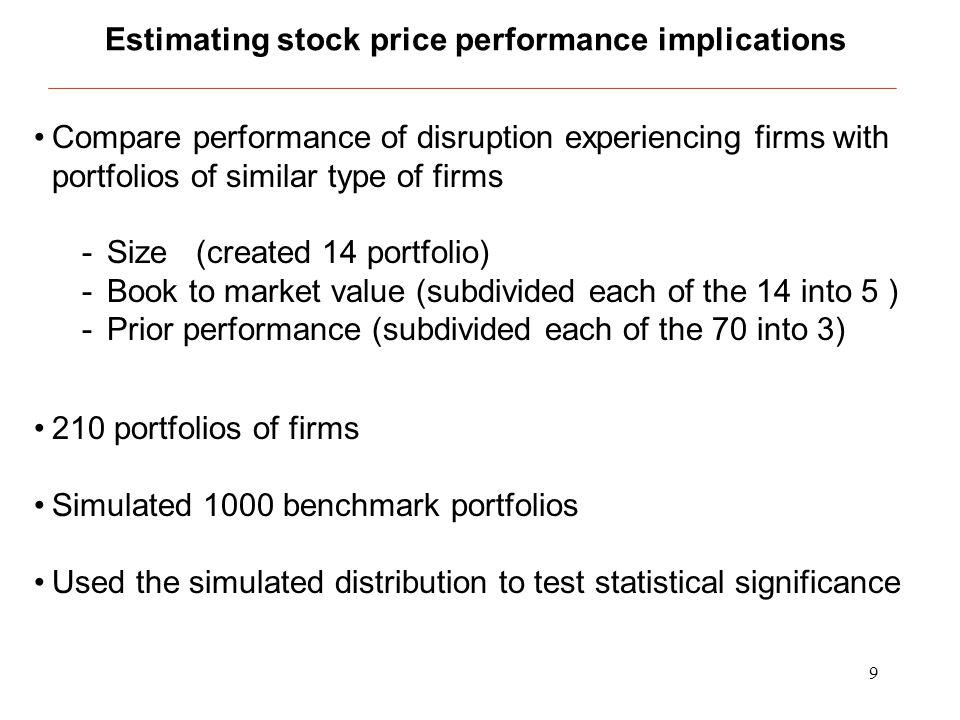 20 Average stock returns by responsibility