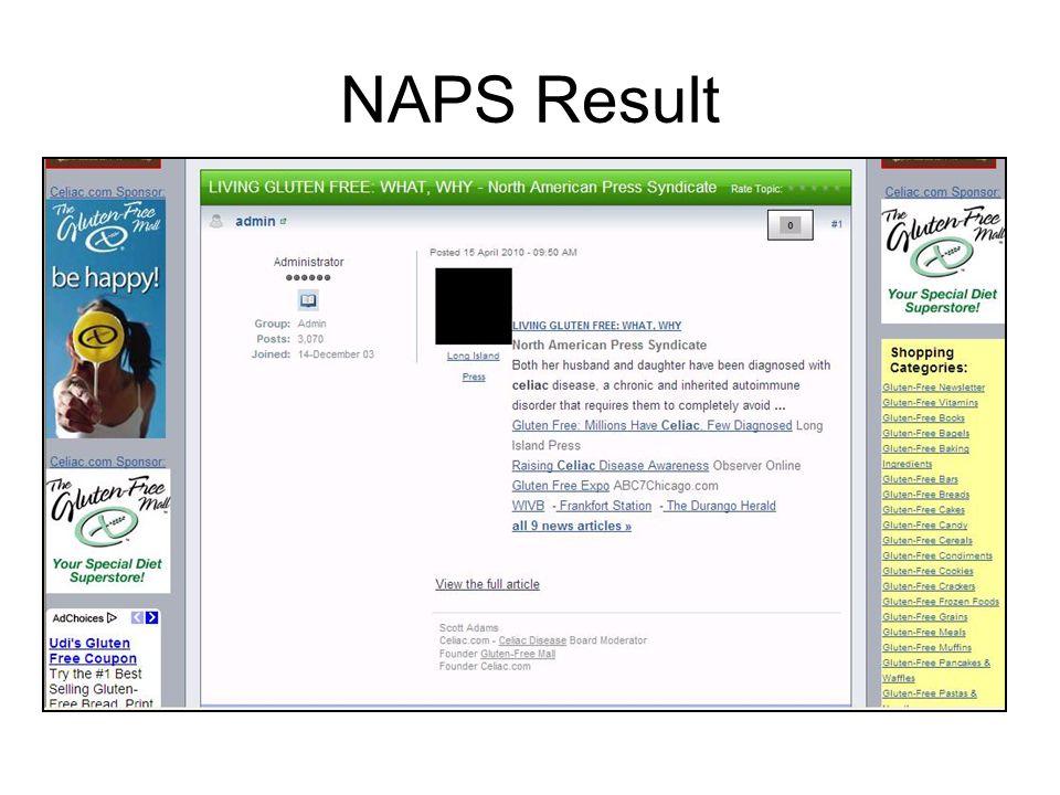 NAPS Result
