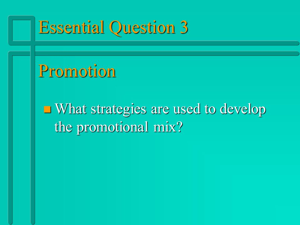 Types of Promotion n n Personal Selling: Oral presentations to one or more potential buyers with the intent of making a sale. n n The responsibility o