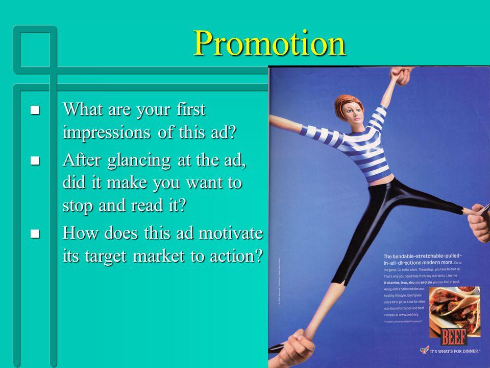 Unit 8 Promotion